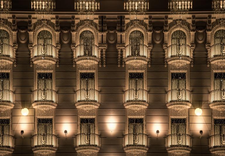 Building Exterior Bridgelux Inc Led Lighting